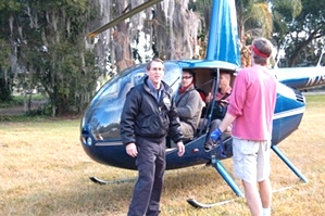 Aerial Filming With A Helicopter